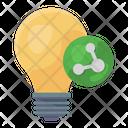 Idea Share Icon