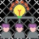 Idea Sharing Business Leadership Icon