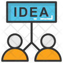 Idea Sharing Icon