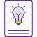 Idea Sheet Icon