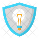 Idea Shield Icon
