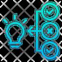 Idea Sorting Sort Icon