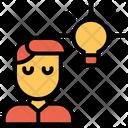 User Profile Creative Idea Icon