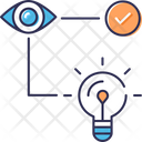 Idea Visualization Icon