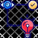 Idea Visualization Icon
