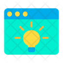 Web Website Online Idea Icon