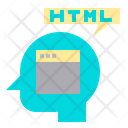 Idea Website Html Icon