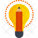 Colored Design Thinking Icon