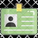 Identification Card Id Icon