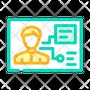 Identification Analysis Icon