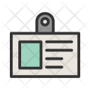 Identification Badge Card Icon