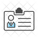 Identification Card Icon
