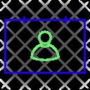 Id Identification Badge Icon