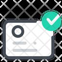 Identification Verified Icon