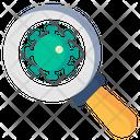 Identification Virus Identification Test Icon