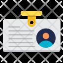 Identity Id Card Icon