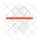 Identity Lock Scan Icon