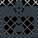 Identity Card Volunteer Icon