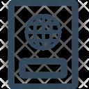 Identity Passport Travel Icon
