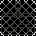 Identity Badge Card Icon