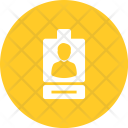 Identity Card Photo Icon