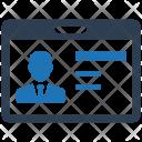 Identity Identification Business Icon