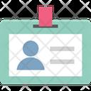 Identity Badge Identity Card Employee Card Icon