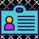 Identity Identification Account Icon