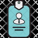 Id Card Identity Card Employee Card Icon