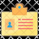 Id Id Card Identity Icon