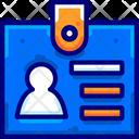 Identity Card Card Identity Icon