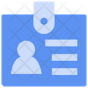 Identity Card Card Business Icon