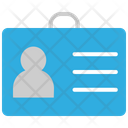 Identity Card Identity I Card Icon