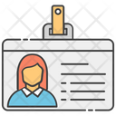 Identity Card Id Badge Student Id Icon