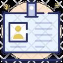 Identity Card Id Card Identification Icon