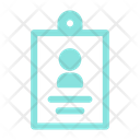 Id Business Card Icon