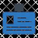 Id Employee Card Icon