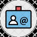 Id Card Identity Card User Card Icon