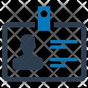 Business Id Identity Icon