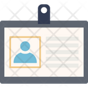 Identity Card Employee Card Id Badge Icon