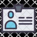 Identity Card Identification Card Card Icon