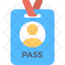 Identity Pass Access Icon