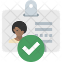Identity Verify Icon