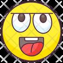 Idiot Emoticon Icon