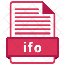 Ifo File Format Icon