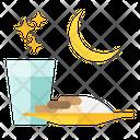 Iftar After The Dusk Iftar Ramadan Icon