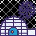 Igloo Eskimo House Icon