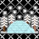 Igloo Eskimo North Icon