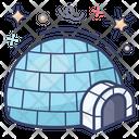 Snowhouse Hut Igloo Icon