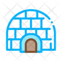 Igloo Icehouse Antarctic Icon